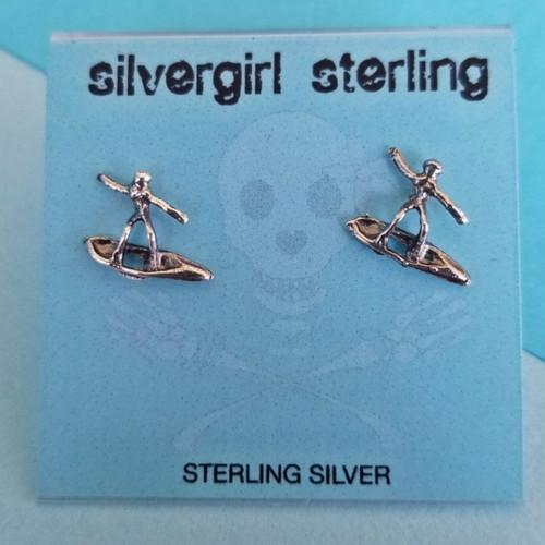 Surfer Tiny Post Earrings