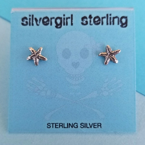 Little Starfish Tiny Post Earrings