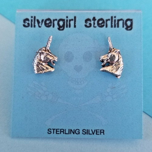 Unicorn Tiny Post Earrings