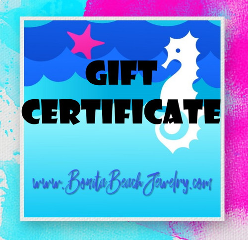 Gift Certificate (Various Denominations)
