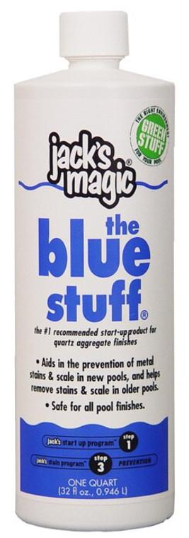 Jack's Magic The Blue Stuff Metal Solution 32 oz