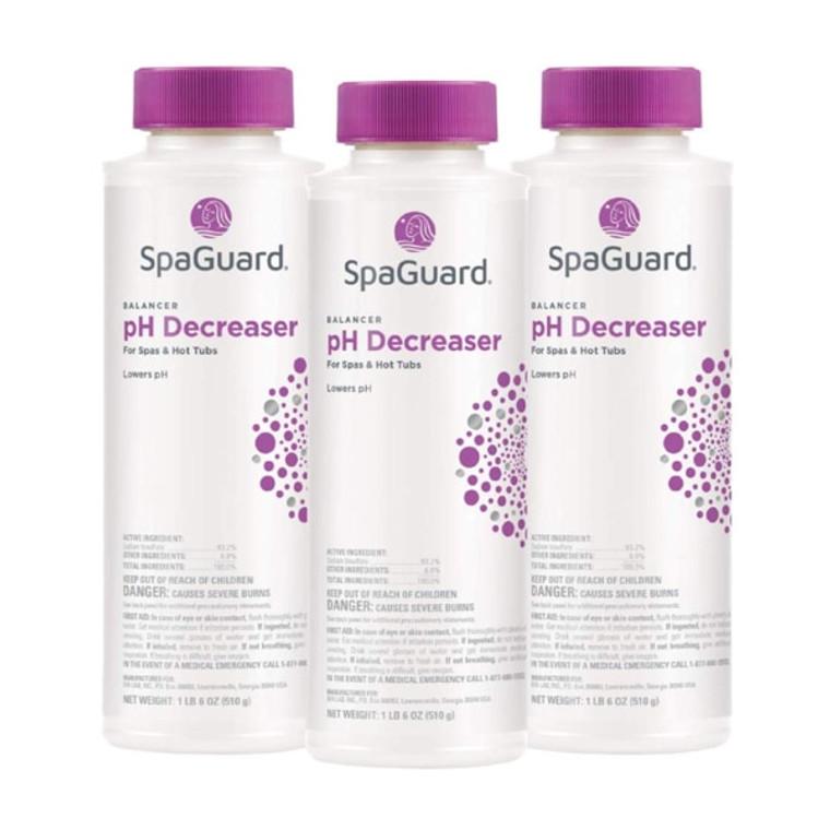 SpaGuard pH Decreaser 22 oz - 3 Pack