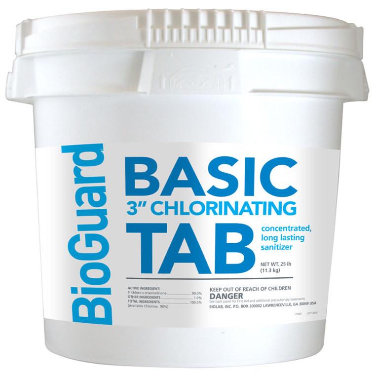 BioGuard Basic Tabs 3 Inch - 25 Lbs.