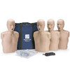 Prestan Manikin Medium Skin Tone Adult 4-Pack with CPR Monitor (PP-AM-400M-MS)