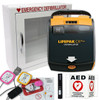 VALUE PAK - Physio-Control LIFEPAK CR Plus AED Fully Auto- includes cabinet and accessories