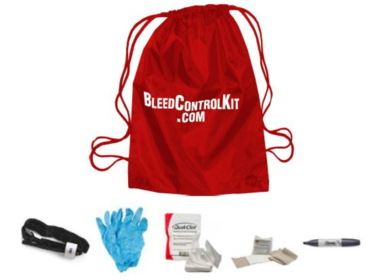 Mass Casualty Bag / Wall Wall Cabinet Combo (8 IND. Kits)