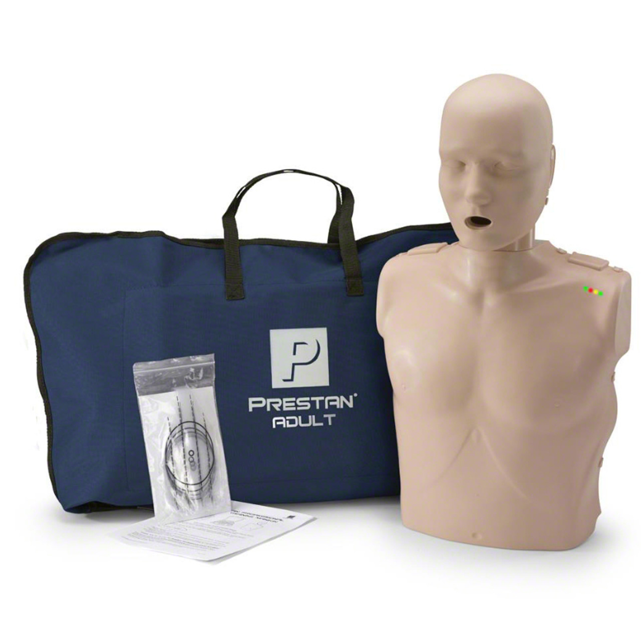 Prestan Manikin (Single), Adult Medium Skin Tone with CPR Monitor