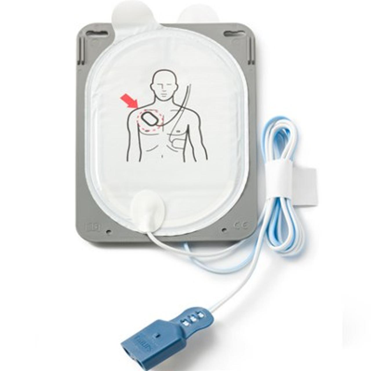 Philips HeartStart FR3 AED ECG Bundle with FAA-Compliant Battery, SMART Pads, & User Documentation