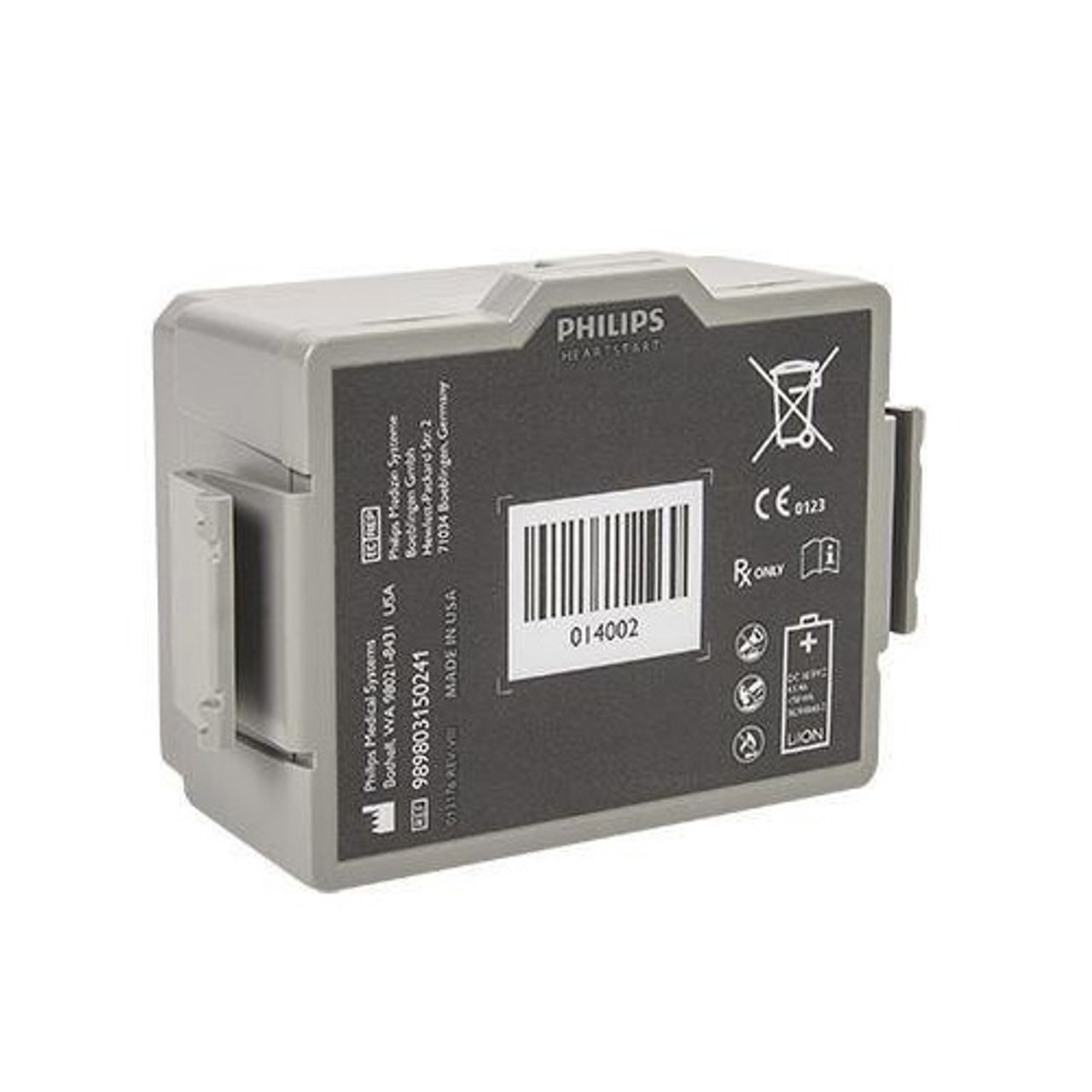 Philips HeartStart FR3 Rechargeable Lithium-Ion Battery (989803150241)