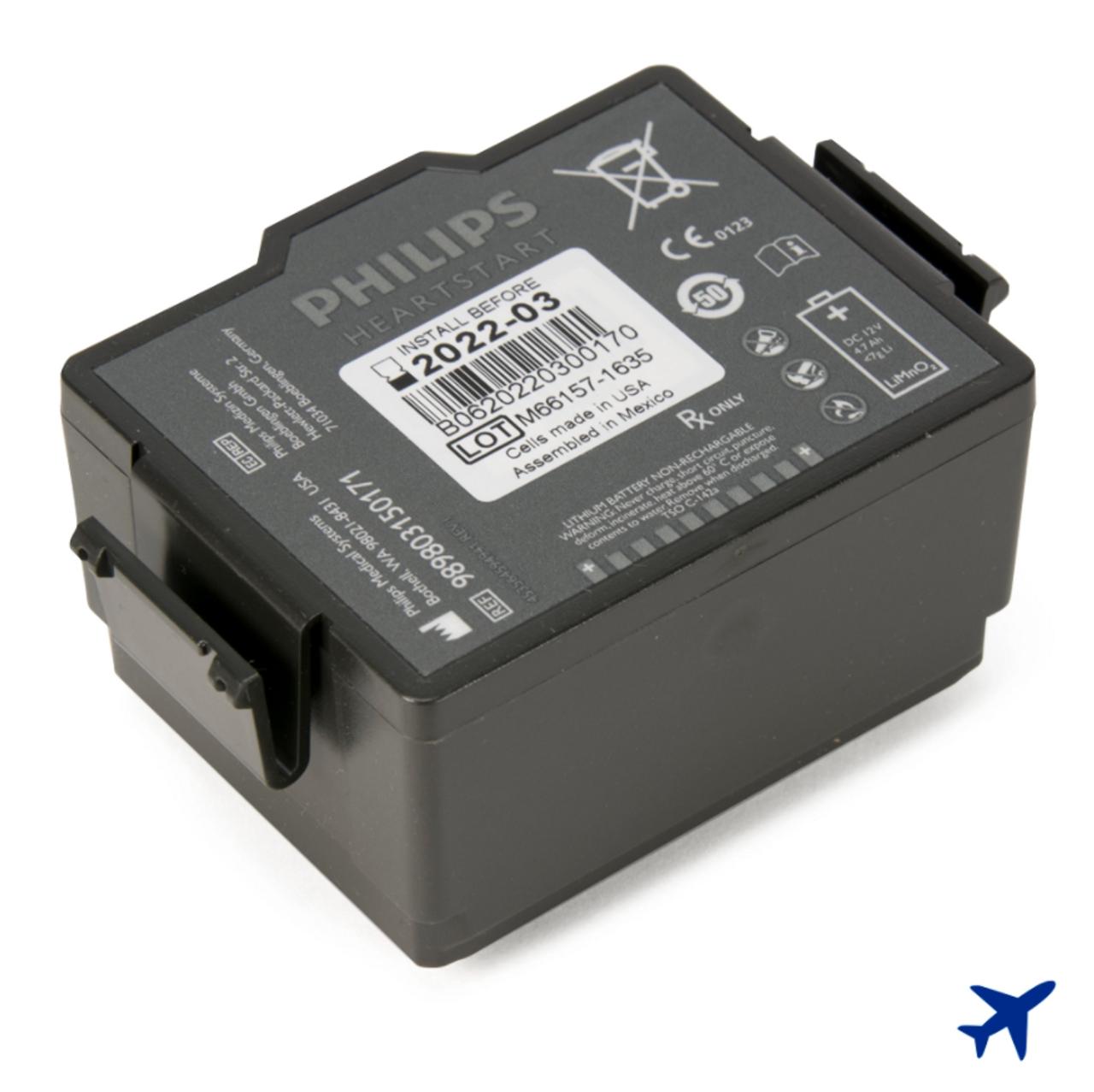 Philips HeartStart FR3 Aviation Battery (989803150171)