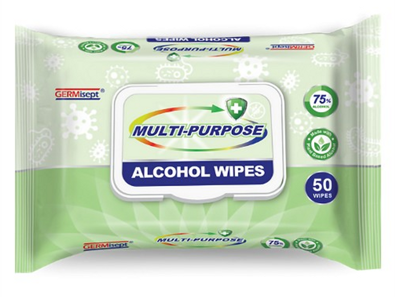 GERMisept Antimicrobial Alcohol Wipes (AMP641)