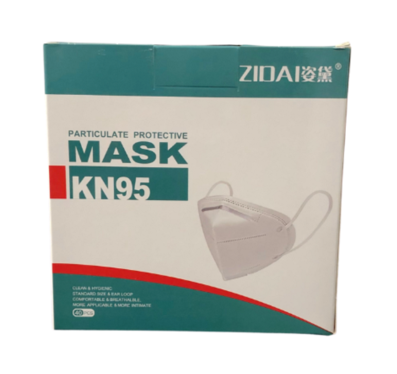 KN95 Mask (Single or 40 Pack)