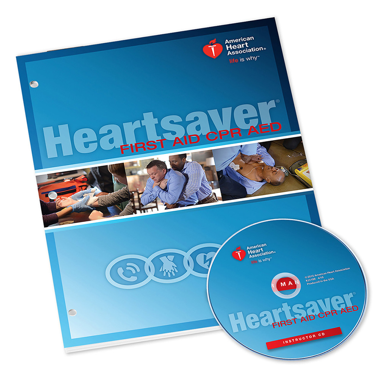 2015 AHA Heartsaver® First Aid CPR AED Instructor Manual