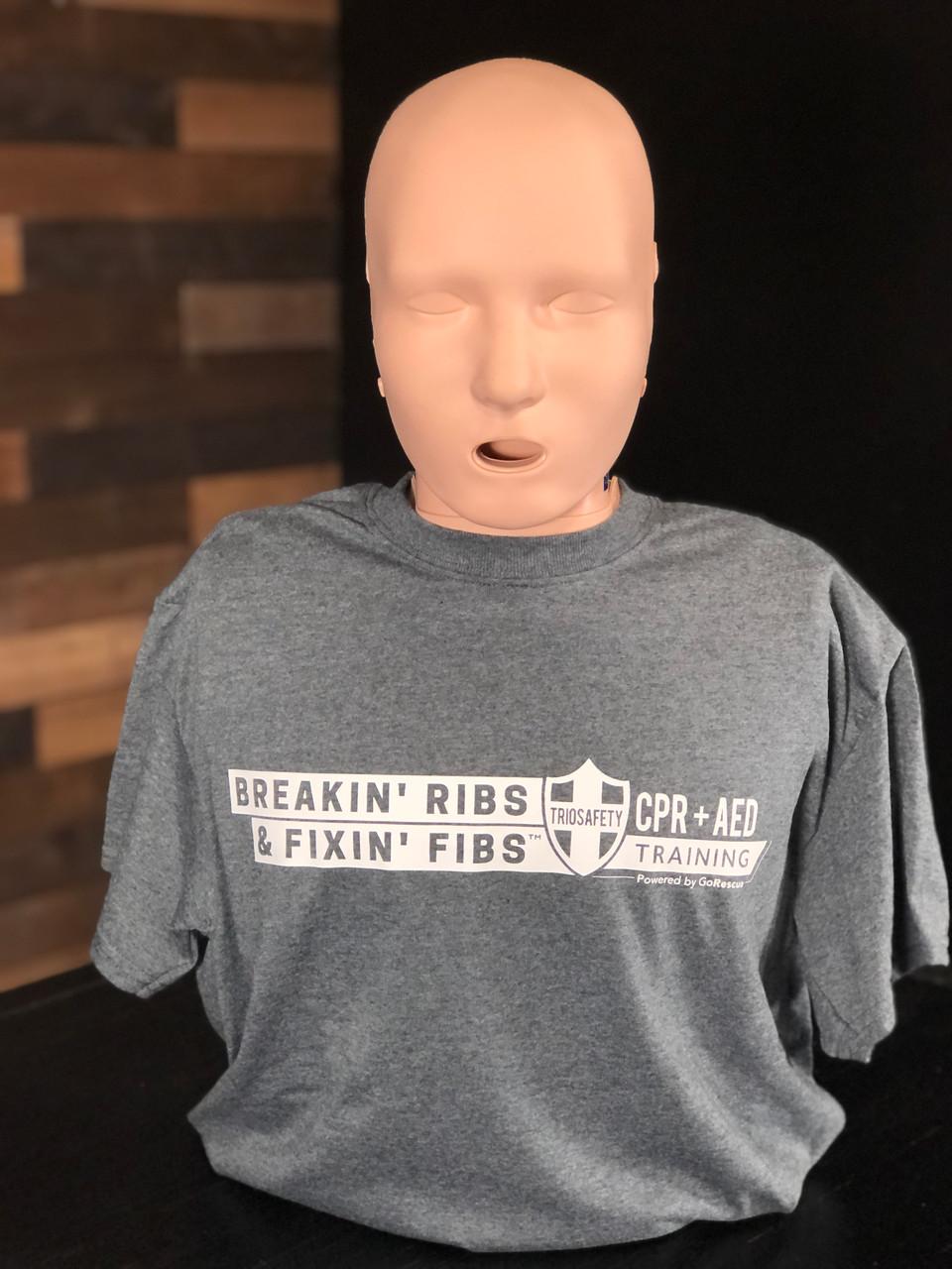 Breakin' Ribs & Fixin' Fibs (TM) T-Shirt