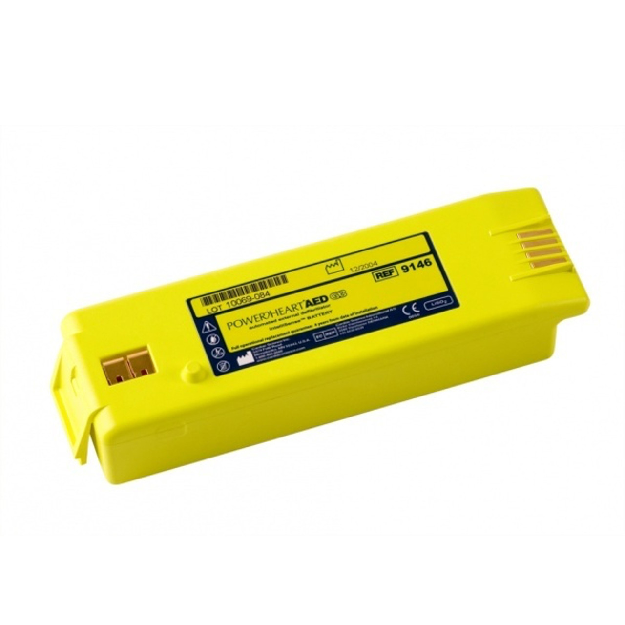 Cardiac Science Intellisense Lithium Powerheart AED Battery for Cardiac Science G3 - YELLOW