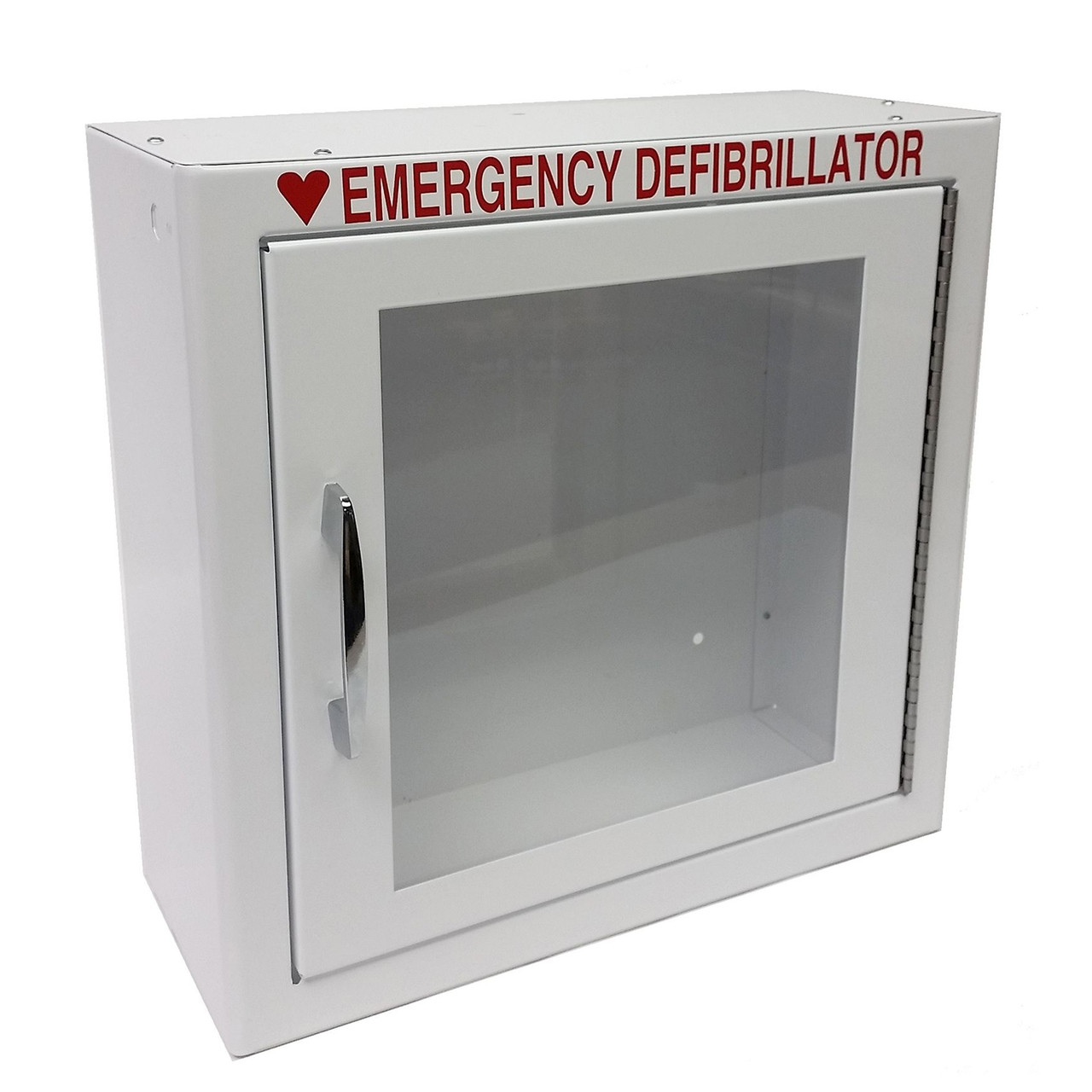 Steel AED Wall Cabinet $139 Value