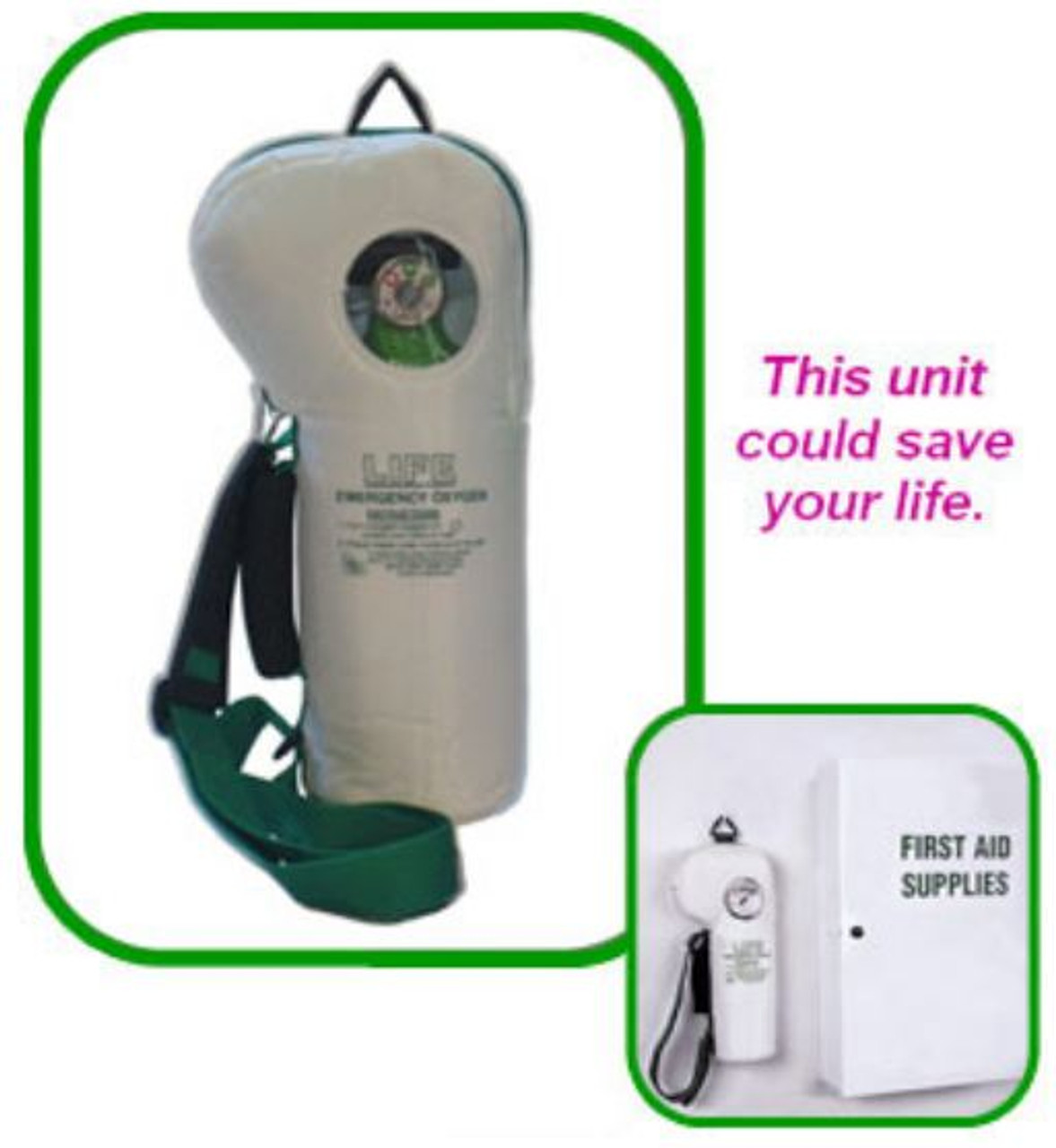Life SoftPac Emergency Oxygen