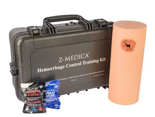 Z-Medica Hemorrhage Control Training Kit with QuikClot Combat Gauze® LE