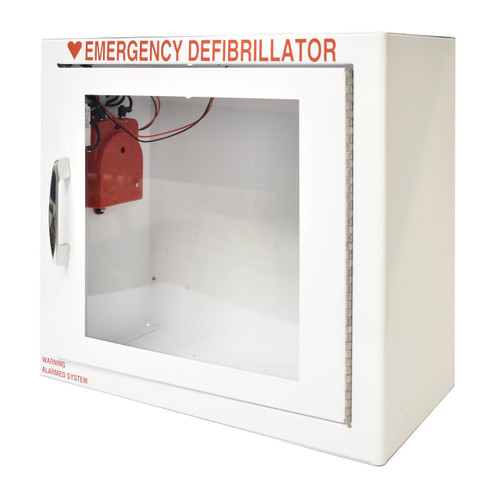 Small AED Standard Wall Cabinet  - Alarm Included