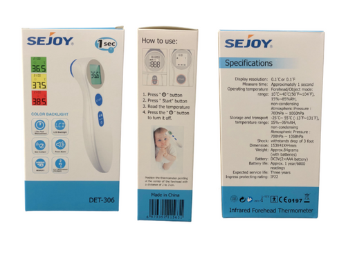 Sejoy Infrared Thermometer (IT1)