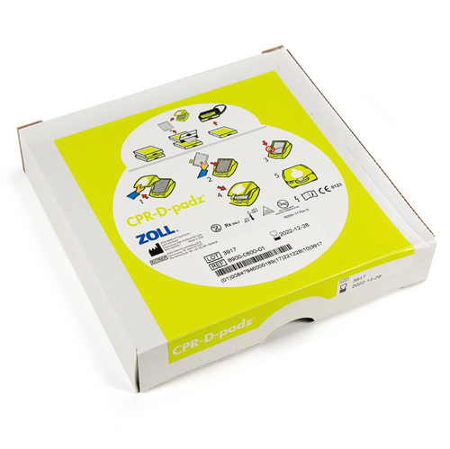 ZOLL® Replacement CPR-D-Padz® with Real CPR Help® and supplies
