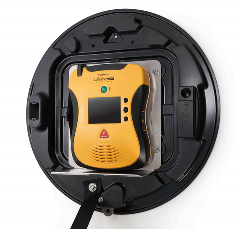 Rotaid Plus Indoor AED Cabinet for Defibtech