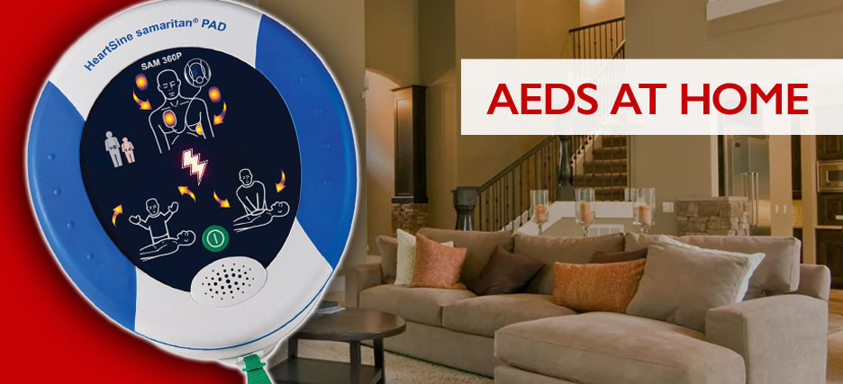 ​Why the HeartSine Samaritan PAD 360P AED Should be in Your Home