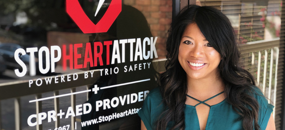 Alison Collins joins Stop Heart Attack | Trio Safety CPR+AED