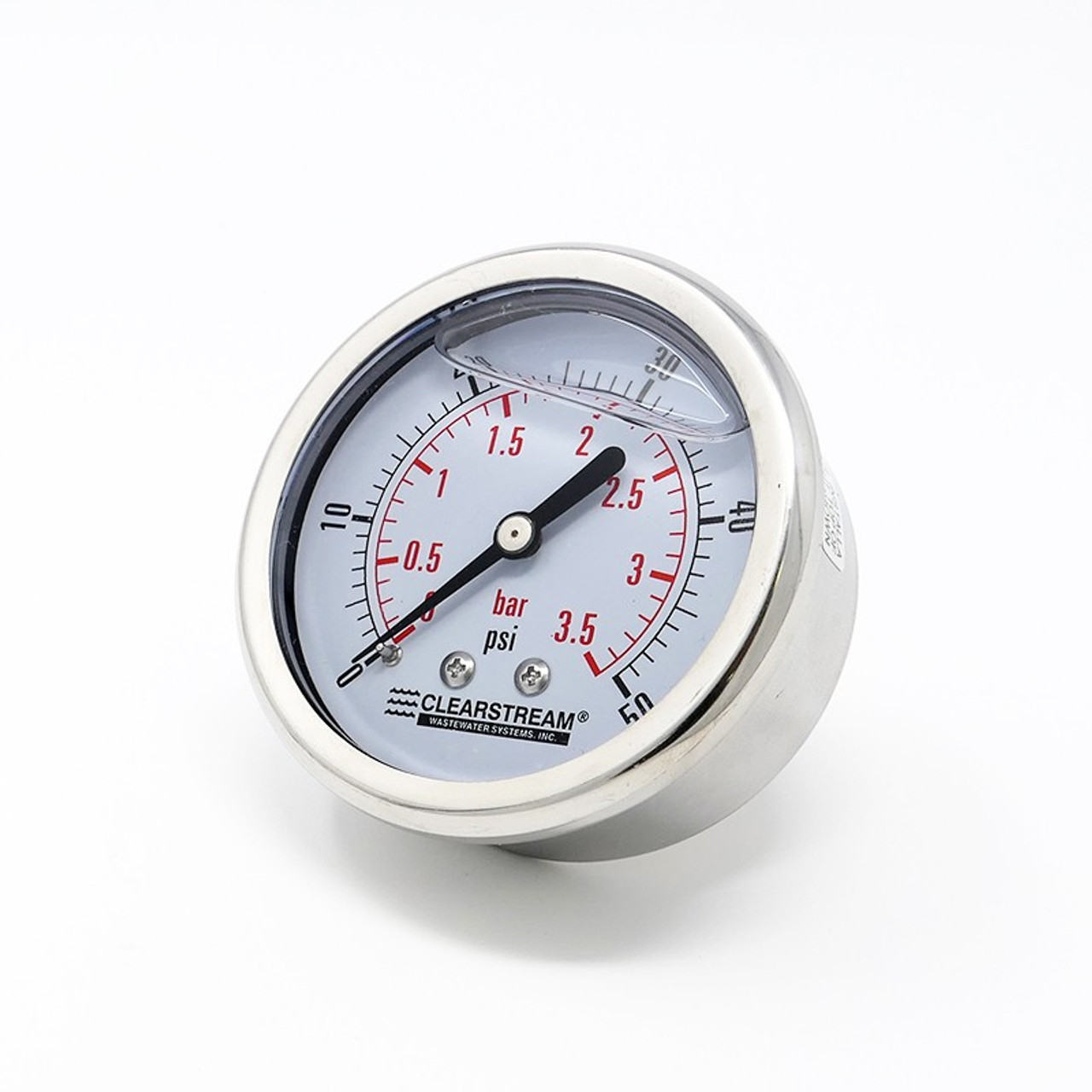 Gauge 50 Psi Oil-Filled