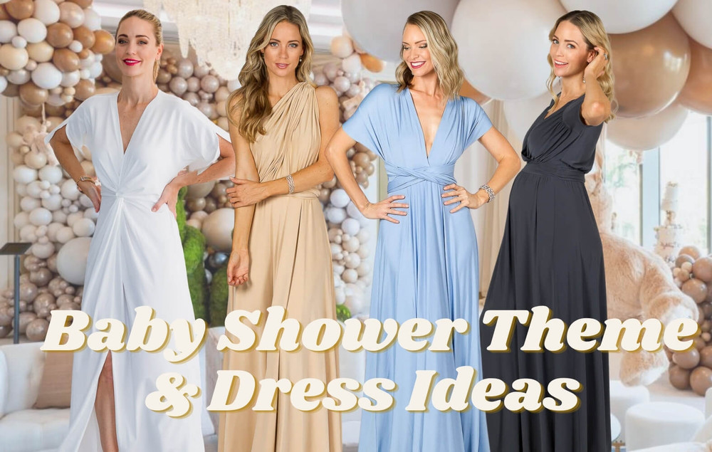 Our Favourite Gender Neutral Baby Shower Theme & Dress Ideas