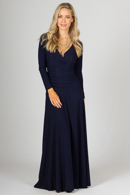 Avery Maxi Dress - Navy