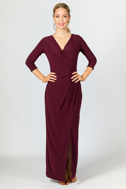 Mia Maxi Dress - Mulberry