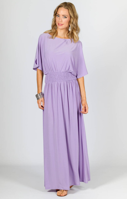Lucy Maxi Dress - Lilac