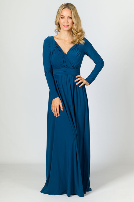 Miranda Maxi Dress - Teal