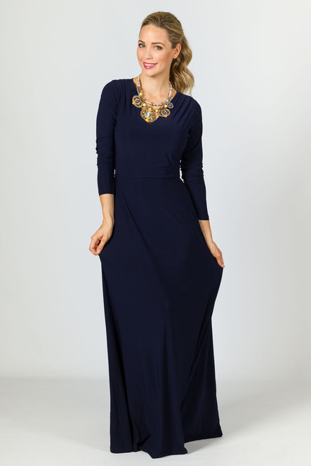 Natalie Maxi Dress - Navy