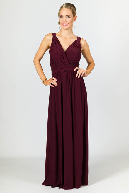 Harlow Maxi Dress - Mulberry