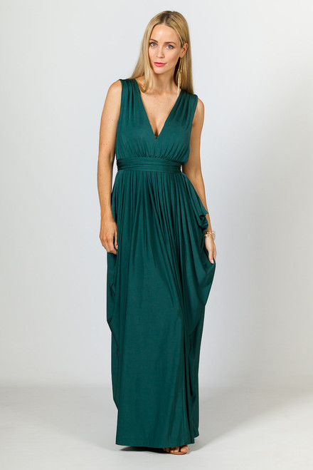 Aphrodite Luxe Maxi Dress  - Forest
