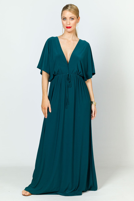 Callie Maxi Dress - Emerald