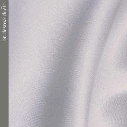 Bridesmaids Etc. Fabric Swatch - Silver