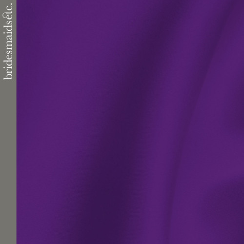 Bridesmaids Etc. Fabric Swatch - Purple