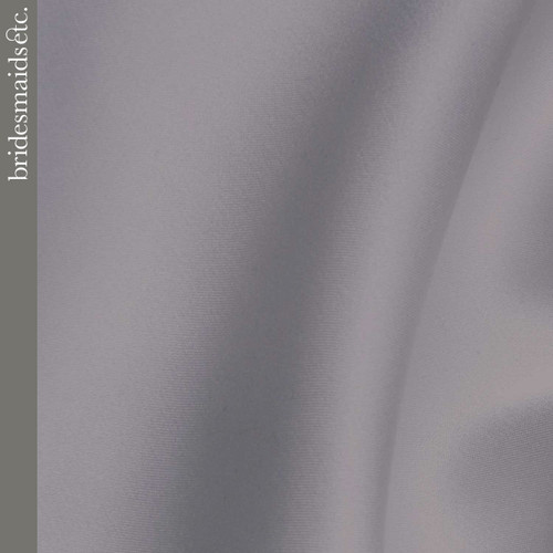 Bridesmaids Etc. Fabric Swatch - Pewter