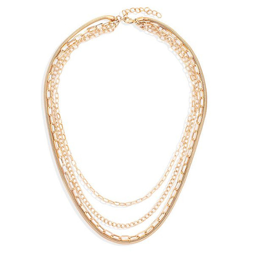 Multilayer Gold Chain