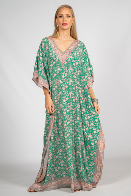 Everly Embellished Kaftan - Long