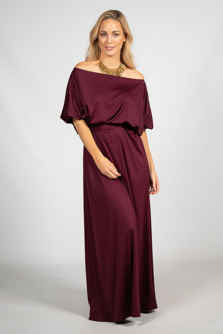 Cora Maxi Dress - Mulberry
