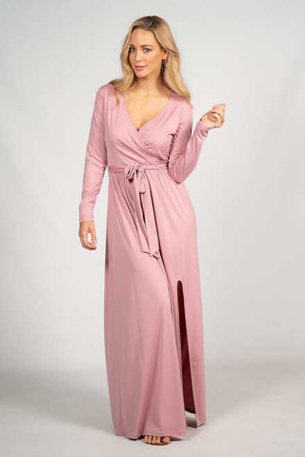 Aubrey Maxi Dress - Dusty Pink