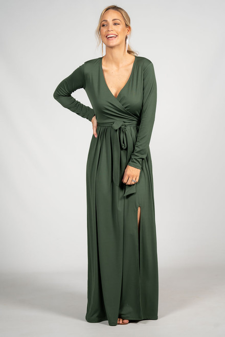 Aubrey Maxi Dress - Olive