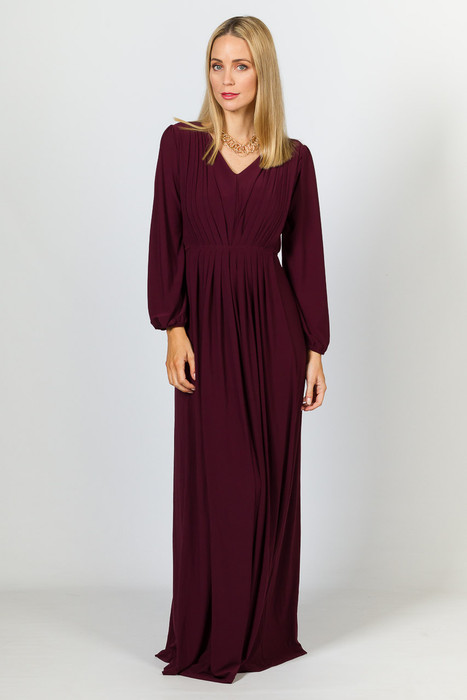 Florence Maxi Dress - Mulberry