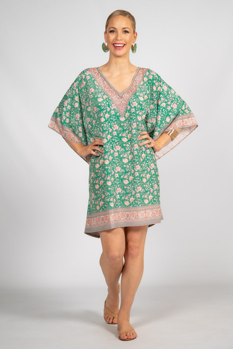 Everly Embellished Kaftan - Short