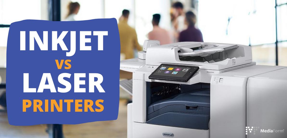 Inkjet VS Laser Printers Which Printer is Best Suited?