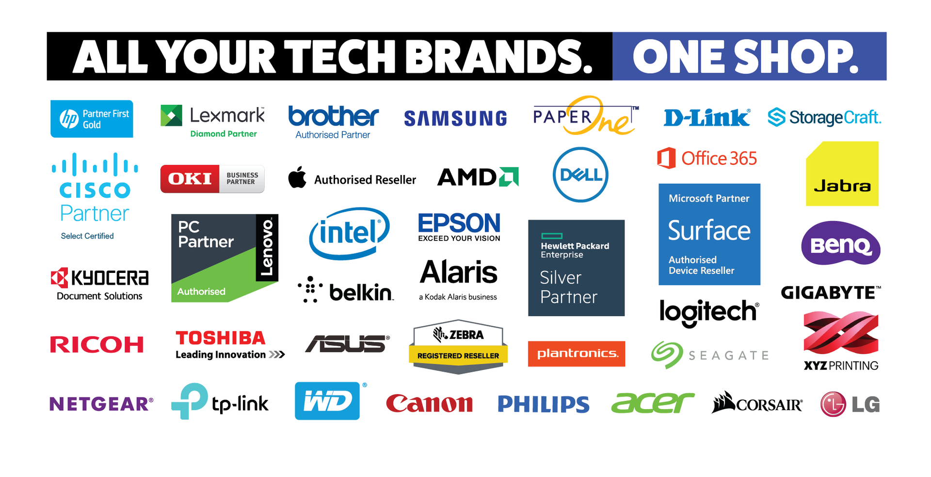All your tech brands under one shop
